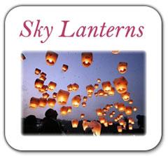 Wedding Sky Lanterns image