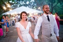 daytime-wedding-sparklers