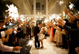 Wedding Sparklers Inside