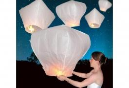 white-sky-lanterns