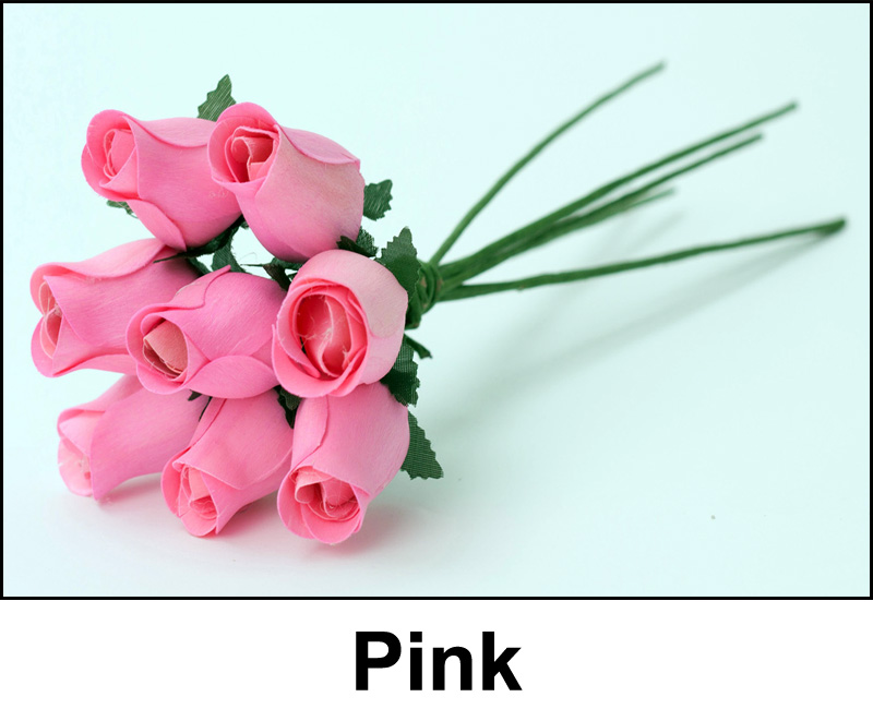 Pink Wooden Roses