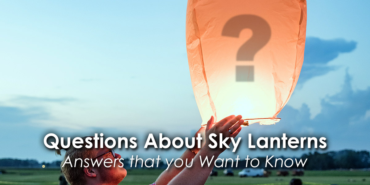 Questions About Sky Lanterns image