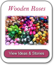 Wooden Roses Ideas and Stories