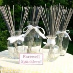Wedding Sparkler Centerpieces image
