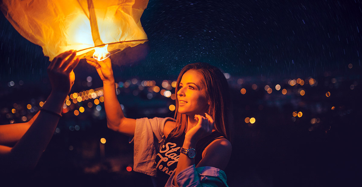 The History of Sky Lanterns image