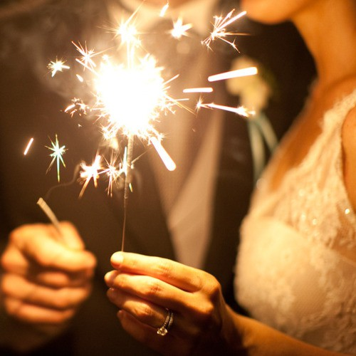 the history of sparklers wedding day sparklers