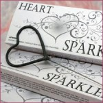 Discount Wedding Sparklers Shaped Like Hearts image