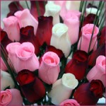 Wooden Roses in Wedding Cetnerpieces image