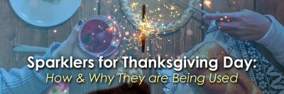 Sparklers for Thanksgiving Day image