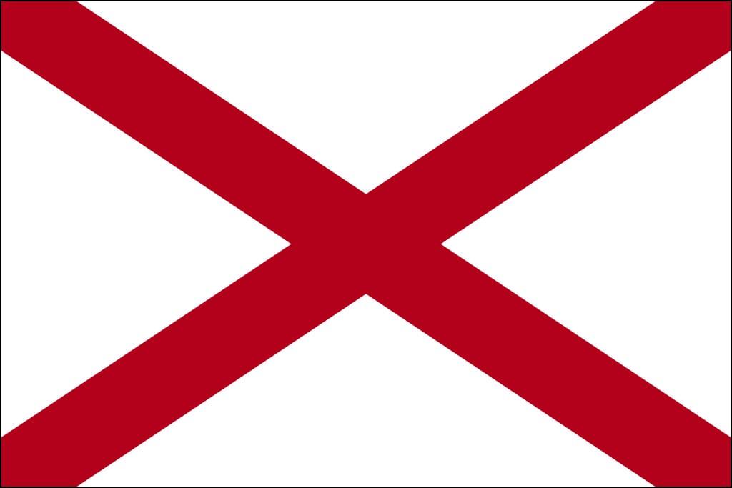 Image of Alabama's State Flag