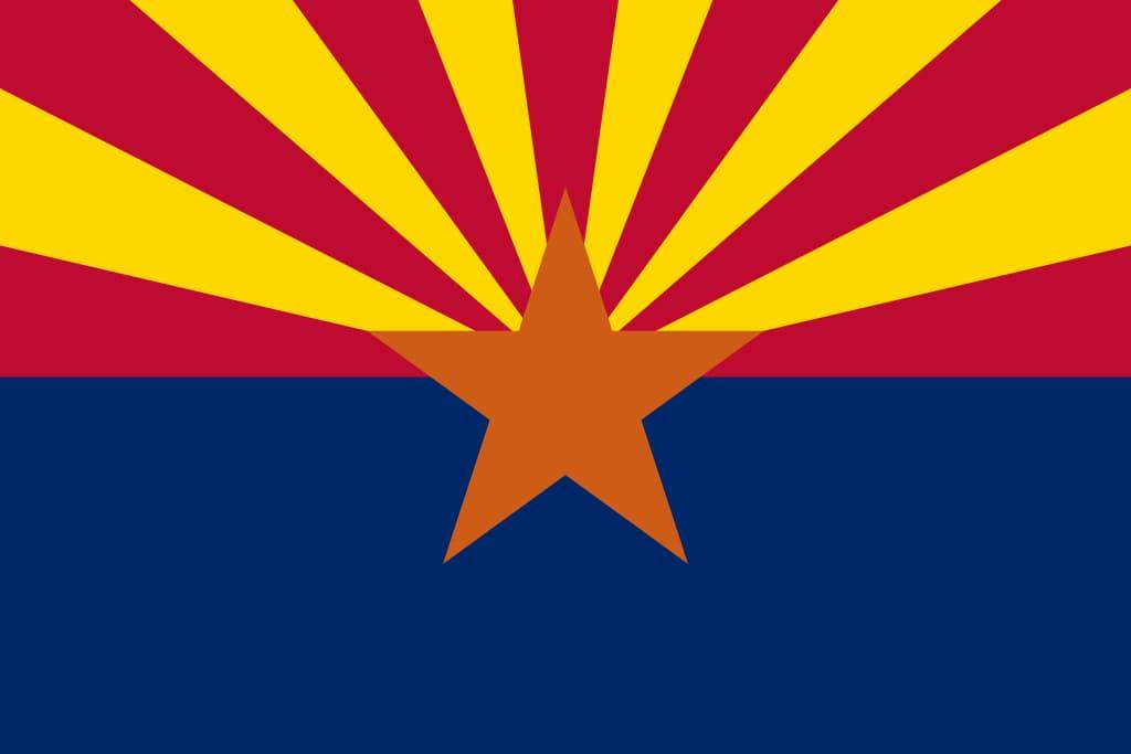 Image of the Arizona State Flag