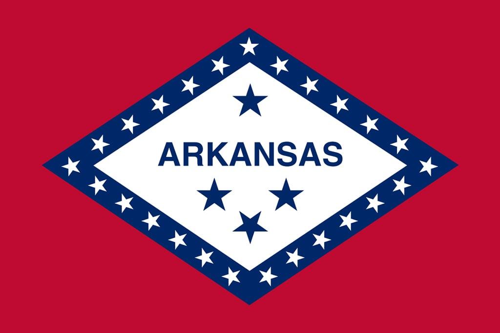 Image of Arkansas' State Flag