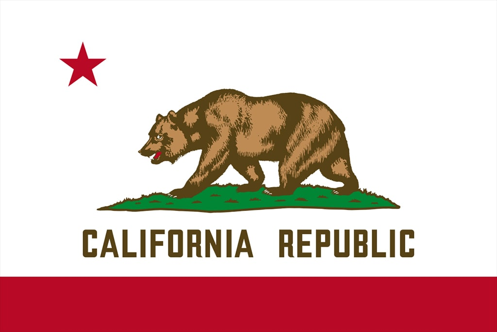 Image of California's State Flag