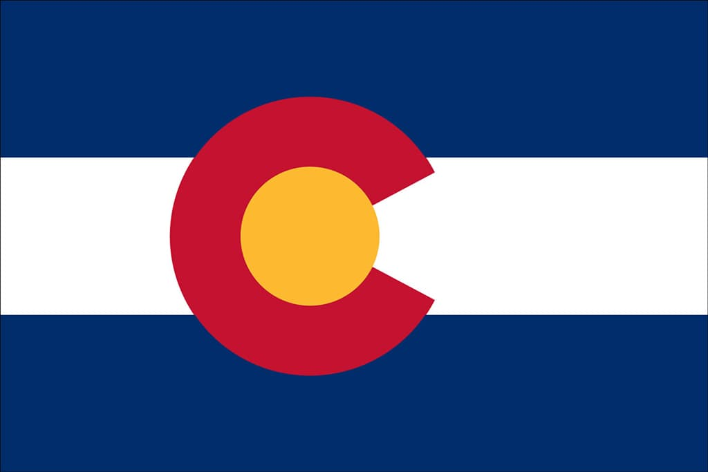 Image of Colorado's State Flag