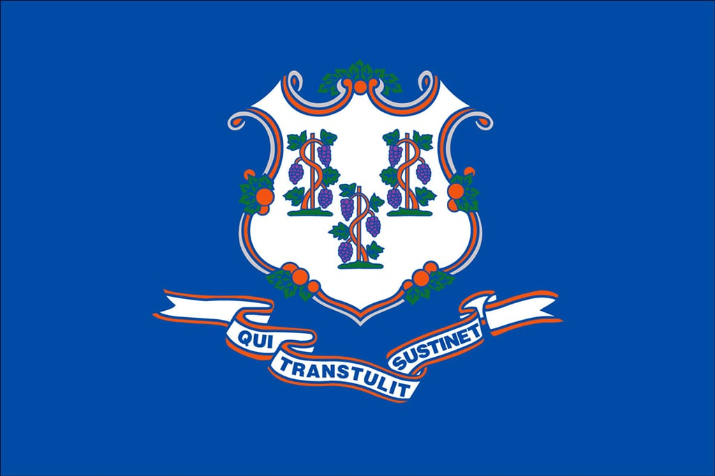 Image of Connecticut's State Flag