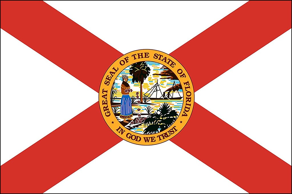 Image of Florida's State Flag