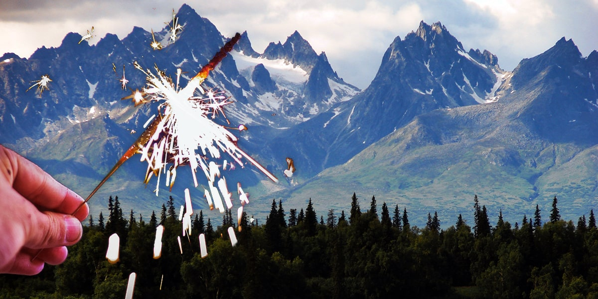 Image of Where to Buy Wedding Sparklers in Alaska