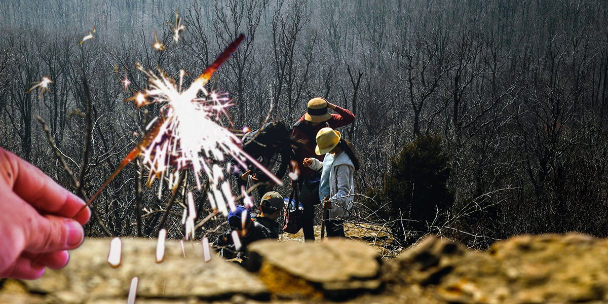 Image of Where to Buy Wedding Sparklers in Arkansas