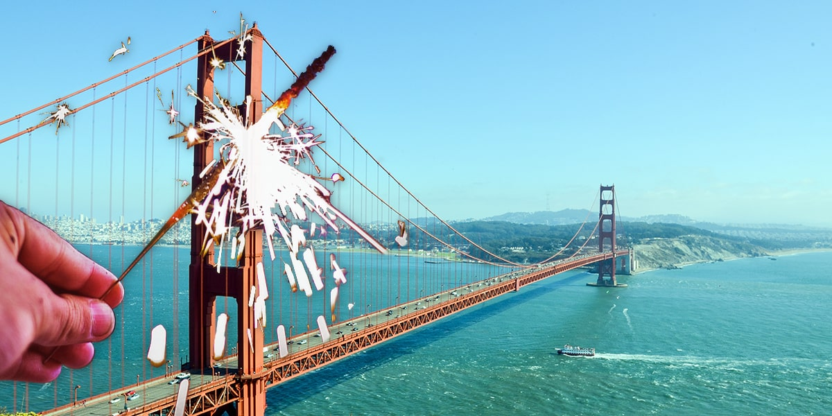 Image of Where to Buy Wedding Sparklers in California