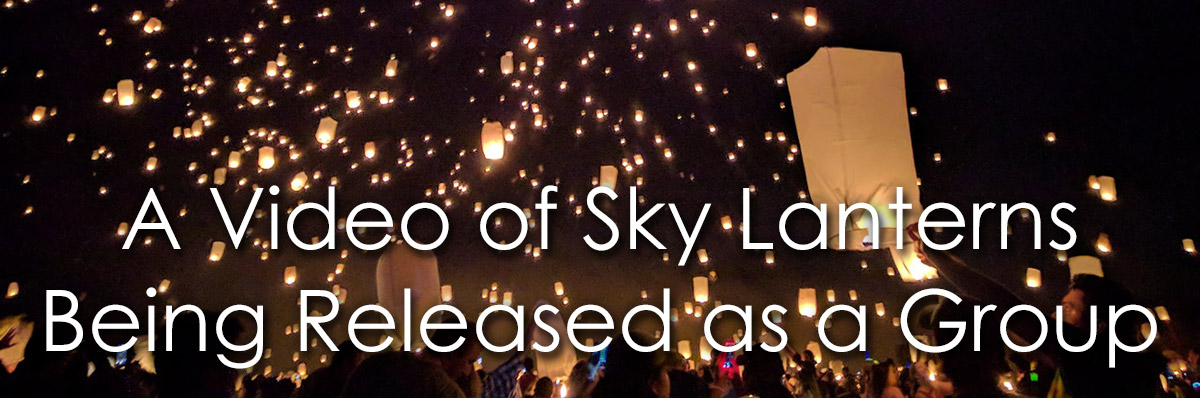 A Video of Sky Lanterns image