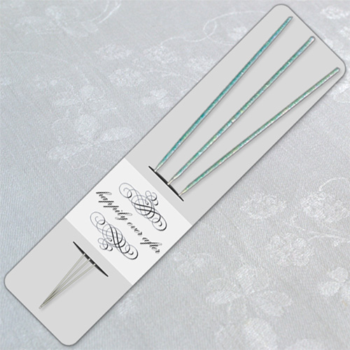 Grey Wedding Sparkler Holder Template