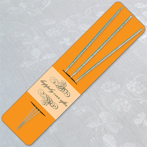 Orange Wedding Sparkler Holder Templates