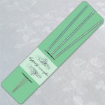 Pastel Green Sparkler Holders