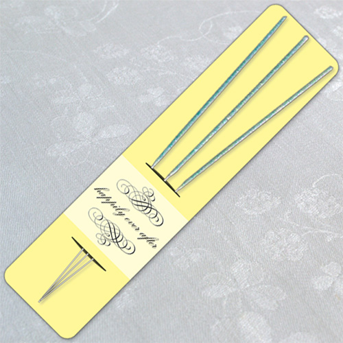 Pastel Yellow Wedding Sparkler Holder Template image