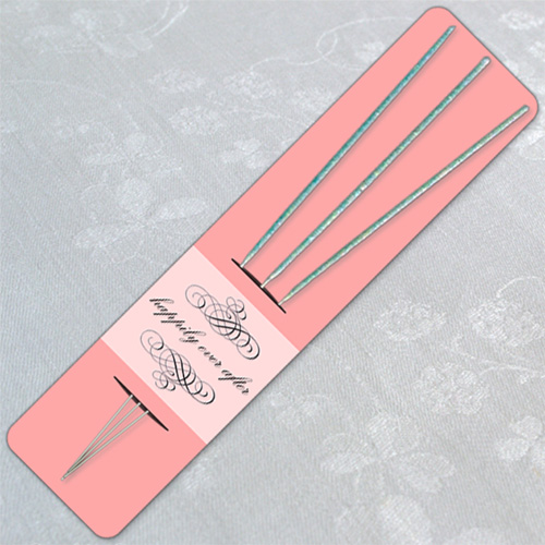 Pink Wedding Sparkler Holder Template