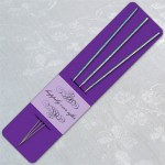 Purple Wedding Sparkler Holder Template image