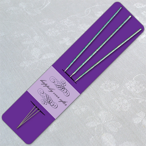 Purple Wedding Sparkler Holder Templates