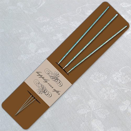 Warm Brown Wedding Sparkler Holder Template