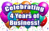 4 Years of Business