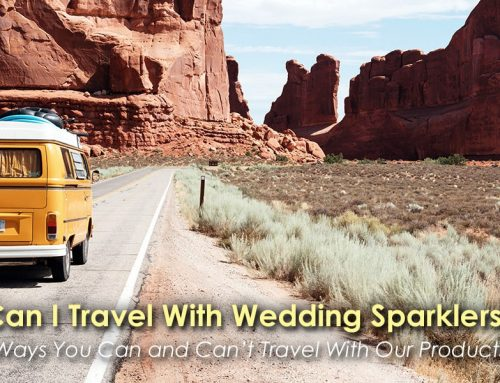 Can I Travel With Wedding Sparklers?