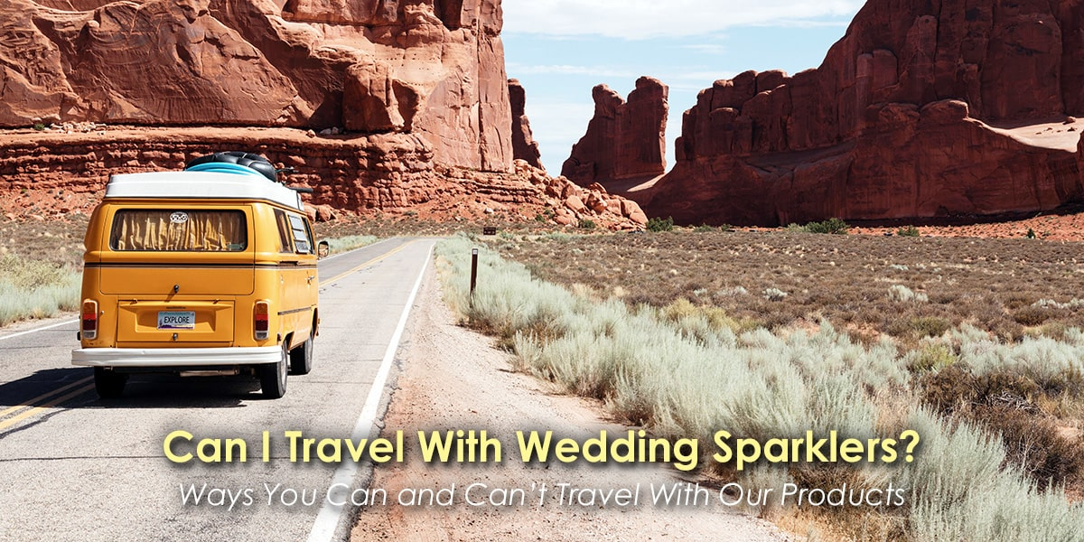 Can I Travel With Wedding Sparklers image