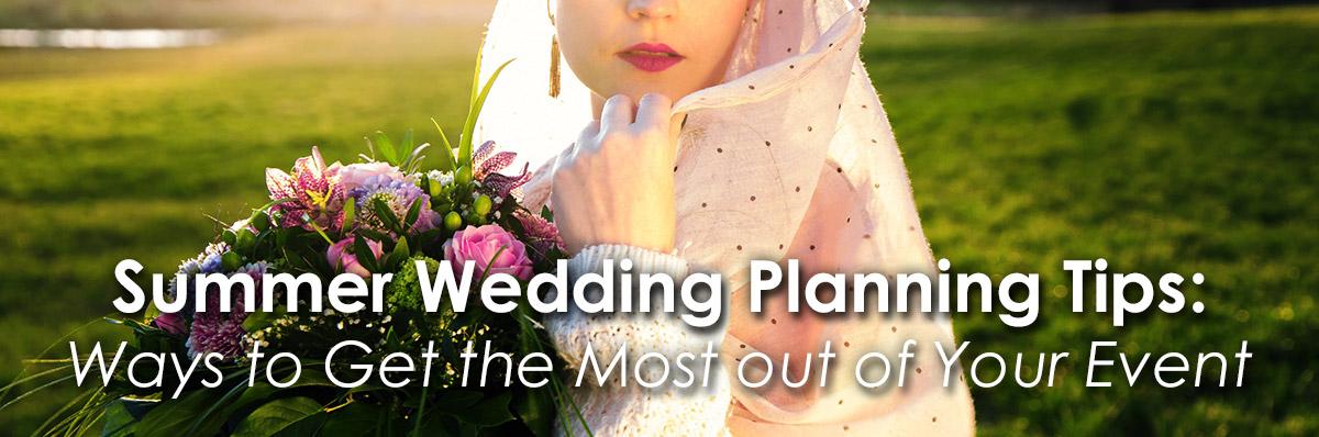 Summer Wedding Planning Tips image