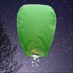 Green Shooting Star Sky Lantern