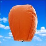 Orange Sky Lantern