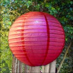 Red LED Party Lantern