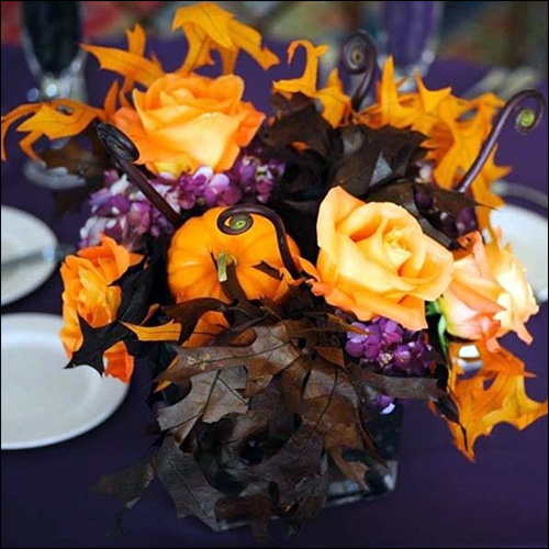 Image of Fall Wedding Ideas for Centerpieces