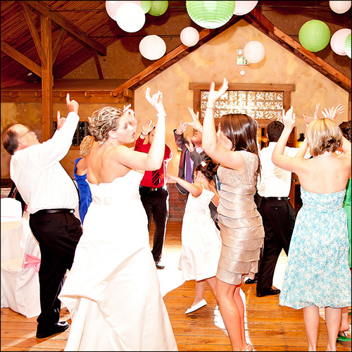 order of events at your wedding reception