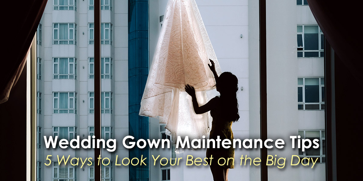 Wedding Gown Maintenance Tips image