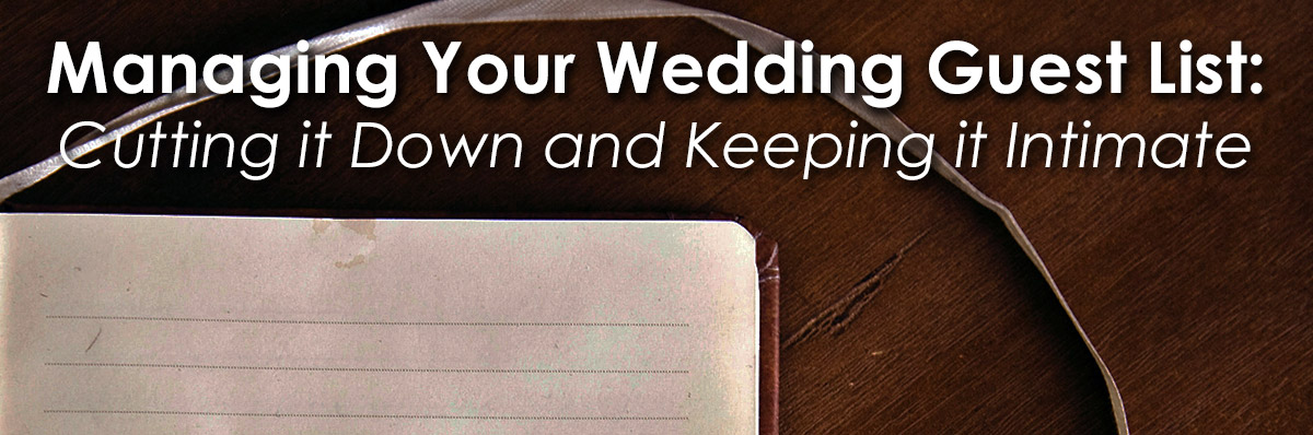 Managing your Wedding Guest List image