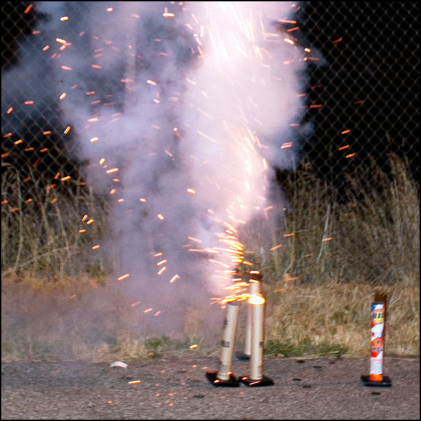 Using Only Quiet Fireworks for Weddings image