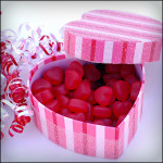 Heart Shaped Wedding Candy
