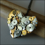 Steampunk Wedding Necklace image