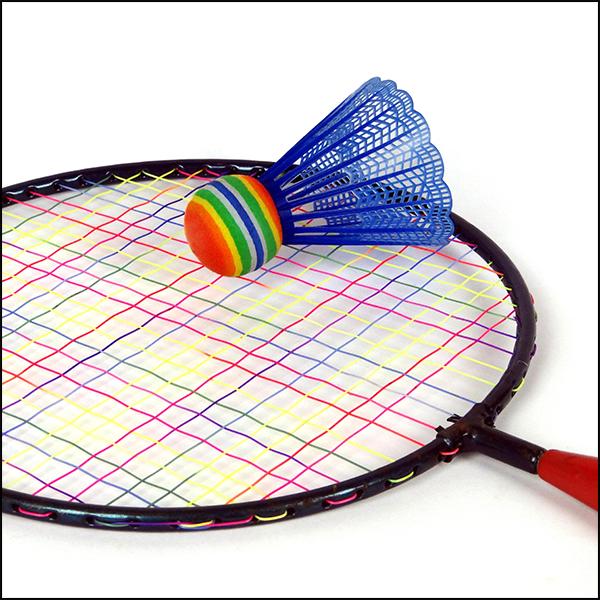 Summer Wedding Games - Badminton image