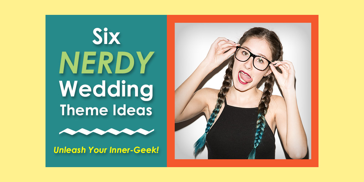 Nerdy Wedding Themes image