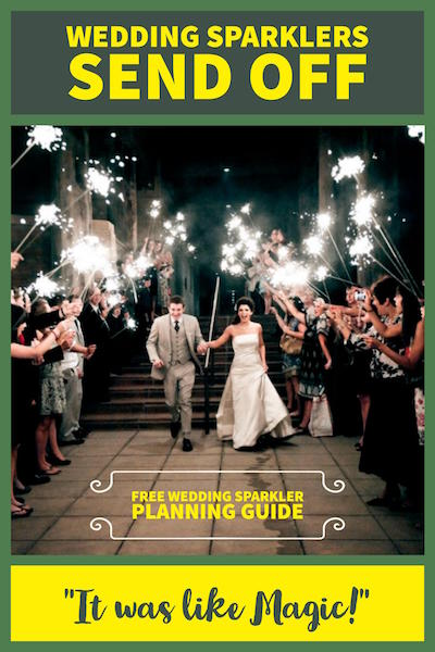 A Guide to Using Sparklers During your Send-Off Line image
