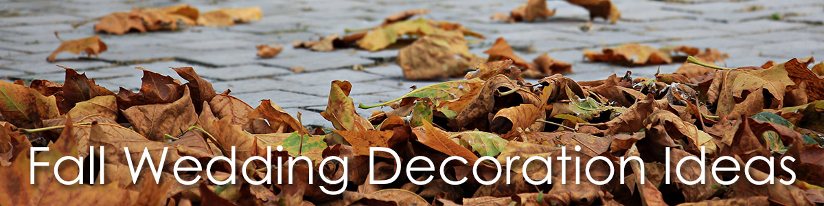 Fall Wedding Decoration Ideas image